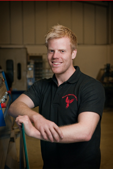 Damien Jones - Glass and Glazing Technician